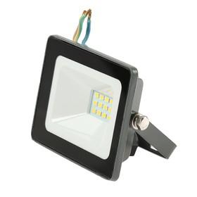 Прожектор светодиодный TDM 'Народный' СДО-04-010Н, 10 Вт, 4000 К, IP65, серый Ош