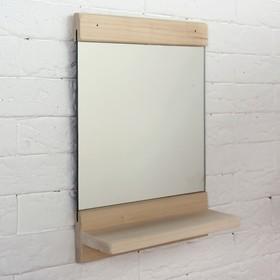 "Зеркало ""Классика"" с полочкой, 34 х 25см - фото 4671614"