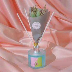 """Диффузор ароматический с букетом """"Flamingo"""", 50 мл, тропические цветы"""