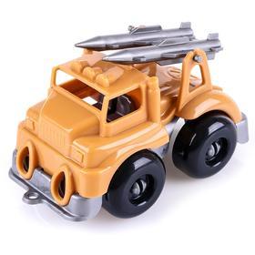 Автомобиль ракетный комплекс «Вжух в пустыне», 10 см 8