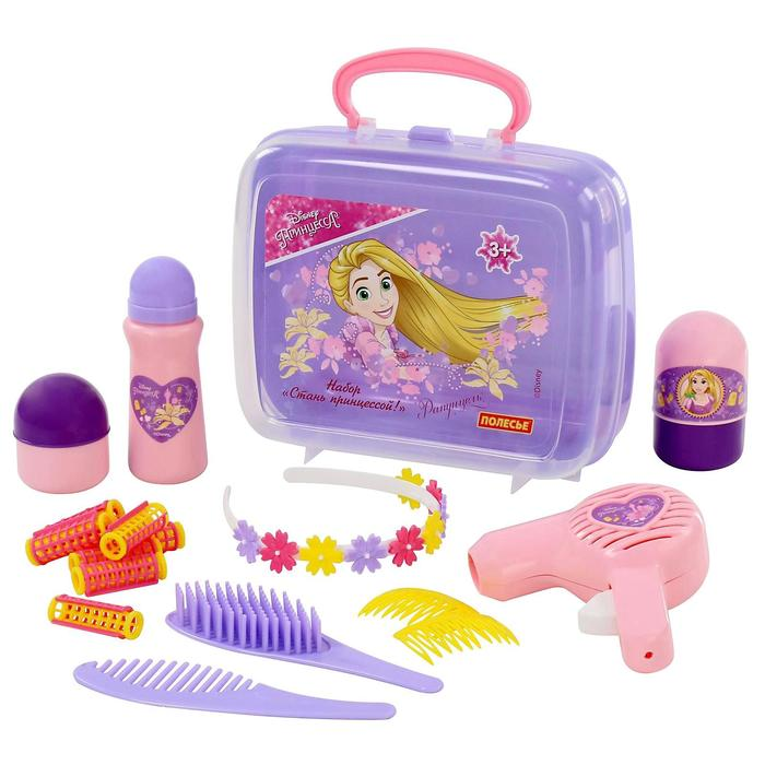 Игровой набор «Рапунцель. Стань принцессой!» в чемоданчике