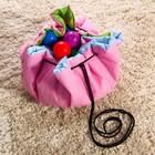 Развивающий коврик - сумка для игрушек «Пони», d100см - фото 105523118