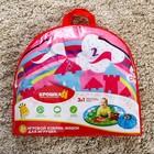 Развивающий коврик - сумка для игрушек «Пони», d100см - фото 105523121