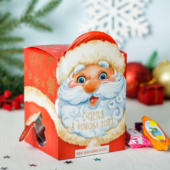 "Сладкий подарок ""Собери игрушку - Дед Мороз"", 400 г"