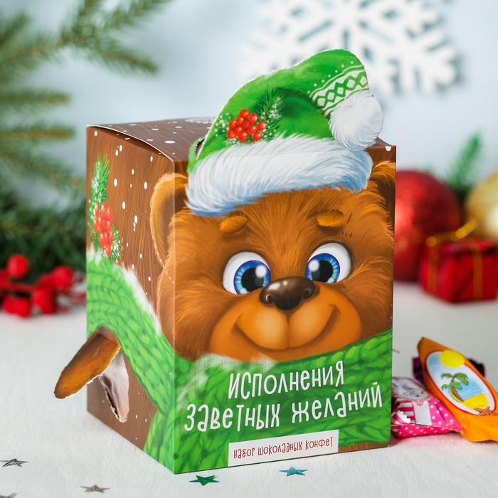 """Сладкий подарок """"Собери игрушку - Мишка"""", 400 г"""