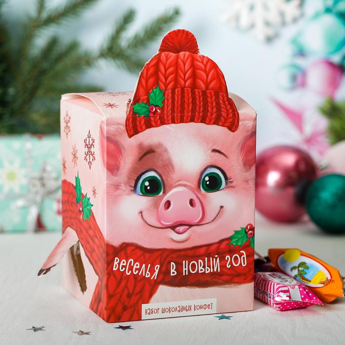 """Сладкий подарок """"Собери игрушку - Свинюшка"""", 400 г"""
