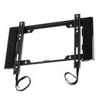 """Кронштейн HOLDER LCD-F3919-B, для ТВ, фиксированный, 22""""-47"""", 25 мм от стены, черный"""