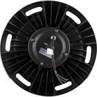 Светильник купольный светодиодный AL1002, 150W, 90°, 6400K, IP44, цвет чёрный