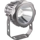 Прожектор светодиодный LL-887, 20W, свет теплый белый, IP65, цвет металлик