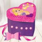 """Шкатулка из фетра, набор для создания """"Принцесса"""""""