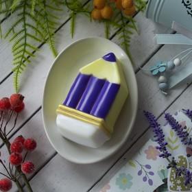 "Пластиковая форма для мыла ""Карандаш"" 10,6х5,2х2.5 см"