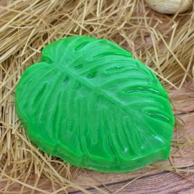 "Пластиковая форма для мыла ""Монстера"" 7,5х2,5х9 см"