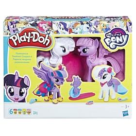 Игровой набор для лепки Play-Doh «Твайлайт и Рарити»