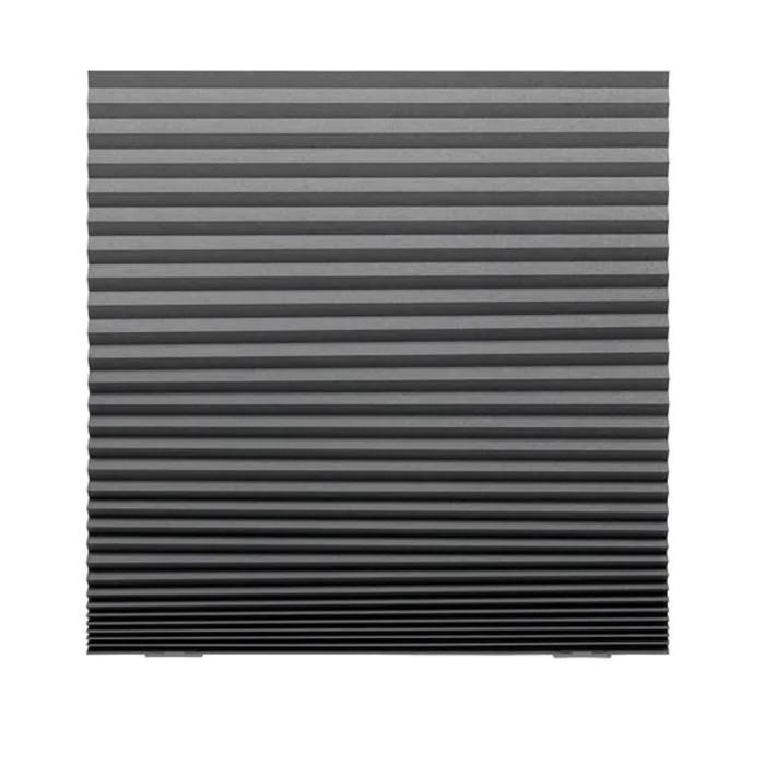 Жалюзи плиссе ШОТТИС, размер 100х190 см, цвет тёмно-серый