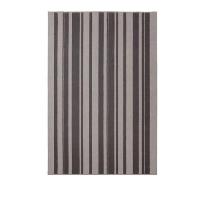 Ковёр ИБСТЕД, размер 120х180 см, короткий ворс, цвет серый