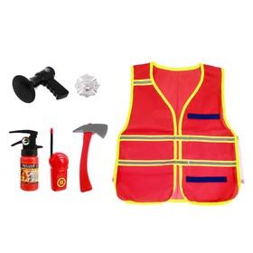 Набор пожарного «Спасатель», 6 предметов
