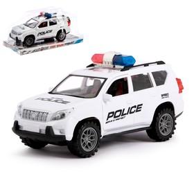 Машина инерционная «Полицейский джип»