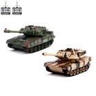 Танковый бой «Великая битва», на радиоуправлении, 2 танка, свет и звук