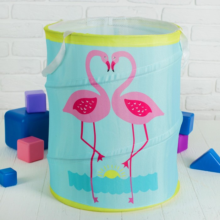 Корзина для игрушек «Фламинго»