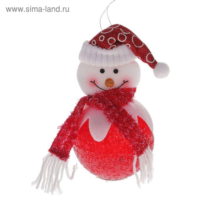 """Световая игрушка """"Снеговик"""" (с кантиком)"""