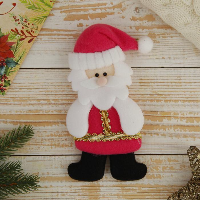 """Мягкая игрушка """"Дедушка Мороз в шубке"""""""