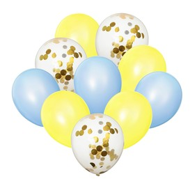 "A bouquet of balloons ""Tenderness"" latex with confetti, set of 10 PCs"