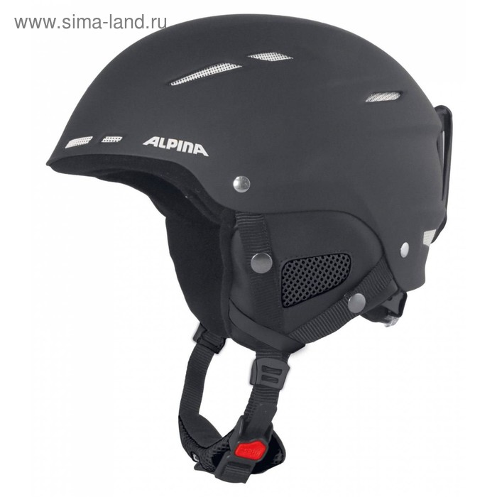 Зимний шлем Alpina 2018-19 BIOM C black matt white, обхват 54-58 см