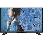 Телевизор Erisson 50FLEA18T2SM, 50', Full HD, DVB-T2/DVB-C, SmartTV, черный