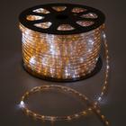 LED string 13 mm, round, 100 m each.6 Merz, 2W-LED/m-36-220V. + n-R d/div. YELLOW