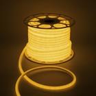 УЦЕНКА Гибкий неон круглый D 10 мм, 50 метров, LED-120-SMD2835, 220 V, ЖЕЛТЫЙ