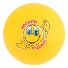"""Мяч детский смайл """"Весело играем"""" 30 гр, цвета МИКС"""