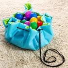 Развивающий коврик - сумка для игрушек «Транспорт», d100см - фото 105523096