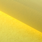 Бумага гофрированная, жёлтая, 50 см х 70 см