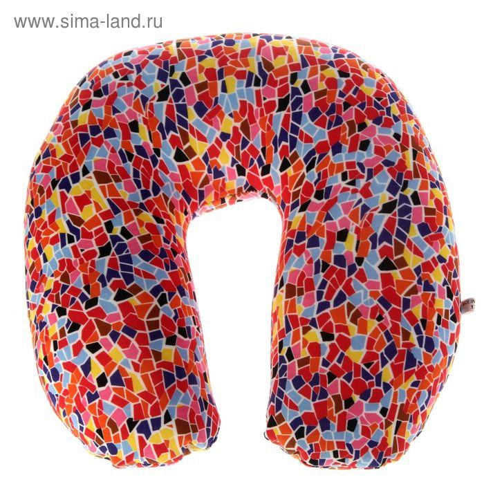 Мягкая игрушка-антистресс подголовник разноцветная