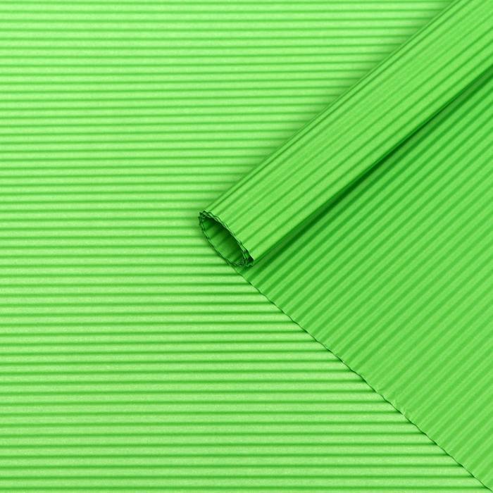 Бумага гофрированная, светло-зелёная, 50 см х 70 см