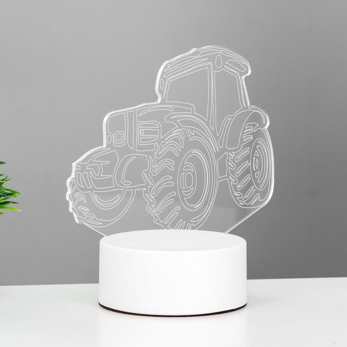 "Светильник ""Трактор"" LED белый от сети 9,5х16х17,5 см"