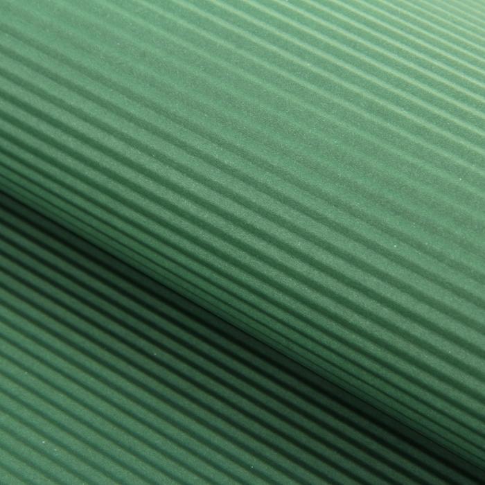 Бумага гофрированная, тёмно-зелёная, 50 см х 70 см