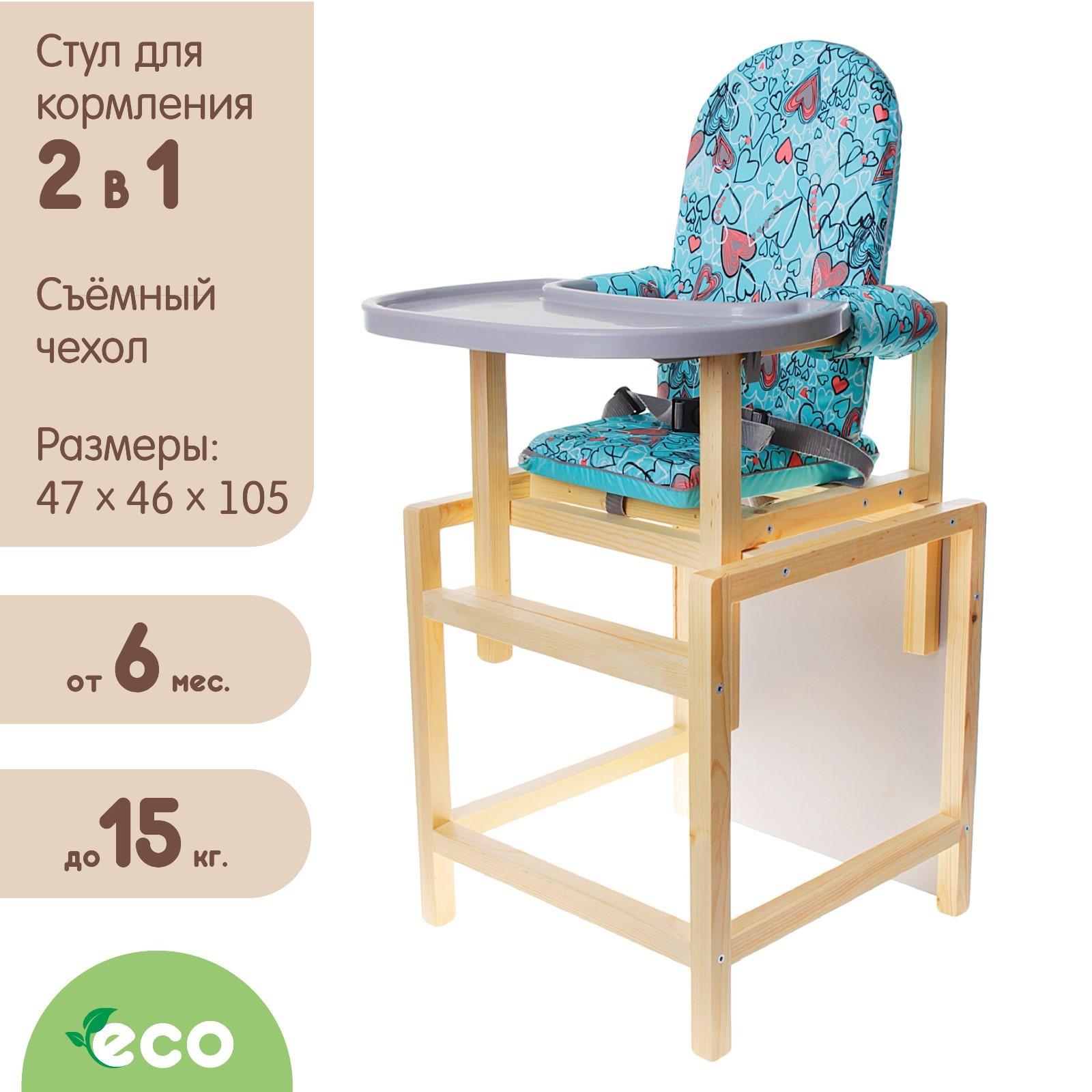 стульчик для кормления стд 07 трансформер цвет бирюзовый