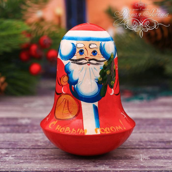 """Неваляшка """"Дед Мороз"""""""