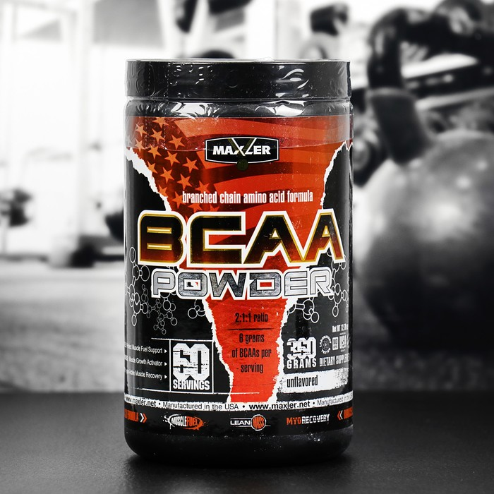 Аминокислоты Maxler BCAA Powder Unflavored, 360 г
