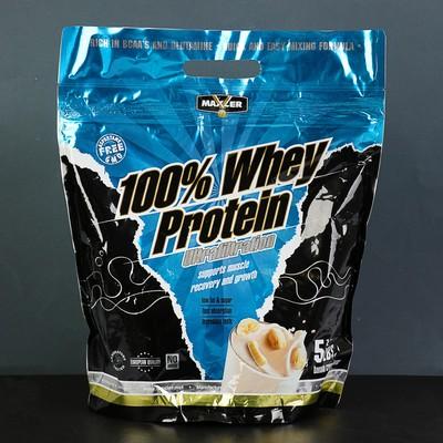 Протеин Maxler Ultrafiltration Whey Protein 2270 г Banana