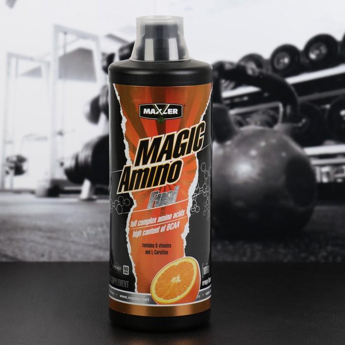 Аминокислоты Maxler Amino Magic Fuel 1000 мл Orange