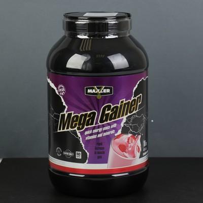 Гейнер Maxler Mega Gainer 4540 г Strawberry