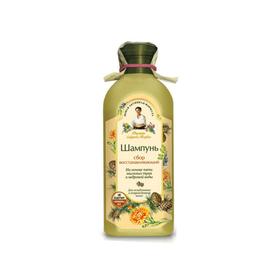Шампунь Рецепты бабушки Агафьи «Сбор восстанавливающий», для ослабленных волос, 350 мл