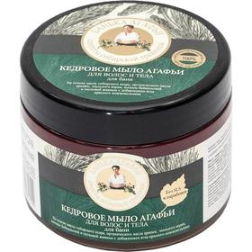 Мыло для волос и тела Рецепты бабушки Агафьи «Кедровое», 300 мл