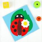 "Puzzle ""Fun ladybug"" 20*20cm"