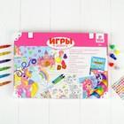"""Развивающий набор для творчества """"Замок принцессы"""" + карандаши, пластилин - фото 105527524"""