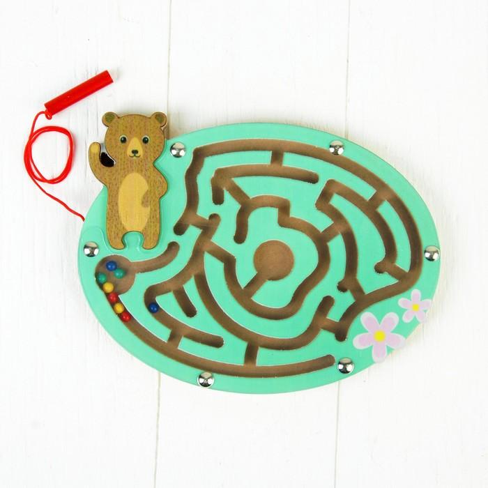 Лабиринт магнитный «Мишка»