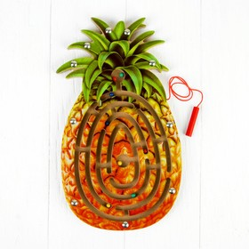 """Magnetic labyrinth """"Pineapple"""""""