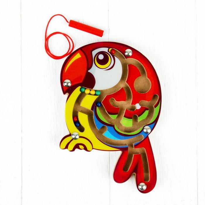 Лабиринт магнитный «Попугай»
